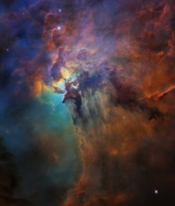 Picture of the Lagoon Nebula provided by NASA